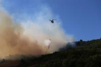 Yenişehir'deki Orman Yangını Drone İle Böyle Görüntülendi