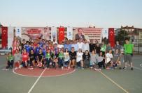 KOLTUK TAKIMI - Akşehir'de Sokak Basketbolu Turnuvası Sona Erdi