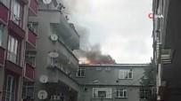 Esenyurt'ta Riskli Binada Yangın Paniği