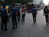 POLİS HELİKOPTERİ - İstanbul'da 'Yeditepe Huzur' asayiş uygulaması 39 ilçede gerçekleşti