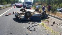 BALCıLAR - Muğla'da Kaza Açıklaması 1 Ölü, 4 Yaralı