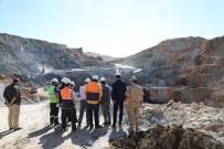 Vali Arslantaş, Demir Madeninde İncelemelerde Bulundu