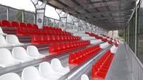Çatalpınar Ve Aybastı İlçe Futbol Sahalarına Tribün Yapıldı