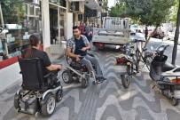 Engelli Vatandaşlardan Kaldırım İşgaline Duyarlılık Çağrısı