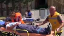 Hastanede Deprem Ve KBRN Tatbikatı