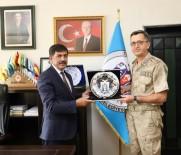 İl Jandarma Komutanı Altıntaş'tan Başkan Aksun'a Ziyaret