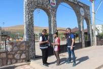 Kozluk'ta Okul Önlerinde Sıkı Denetim