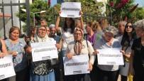 KADIN CİNAYETLERİ - Mersinli Kadınlardan 'Kübra Aşkın' Cinayeti Protestosu