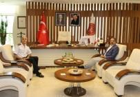 Nevşehir İl Jandarma Komutanı Erol'dan Rektör Bağlı'ya Ziyaret