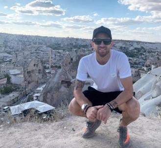 Pedro Hernique Kapadokya'yı gezdi