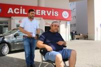 Saldırıya Uğrayan Servis Sürücüsü Hastanelik Oldu