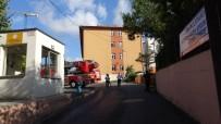 Sancaktepe'de Okulda Yangın Paniği
