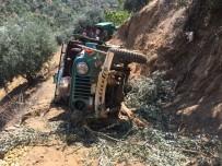 Tarım İşçilerini Taşıyan Araç Uçuruma Yuvarlandı; 1 Ölü, 5 Yaralı