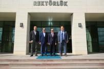 BAYBURT ÜNİVERSİTESİ REKTÖRÜ - Vali Epcim'den Rektör Coşkun'a İade-İ Ziyaret