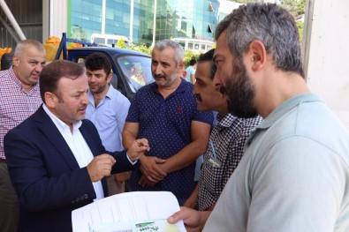 AK Parti Giresun Milletvekili Sabri Öztürk Açıklaması 'Üretici, TMO Alımlarından Memnun'