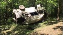 Bitlis'te Minibüs Şarampole Devrildi Açıklaması 10 Ölü, 7 Yaralı