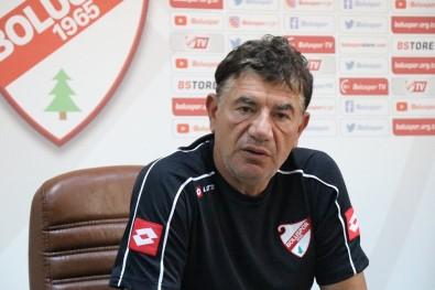Boluspor Teknik Direktörü Giray Bulak Açıklaması