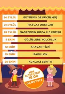 Çocuk Tiyatroları 41 Burda'da Devam Ediyor