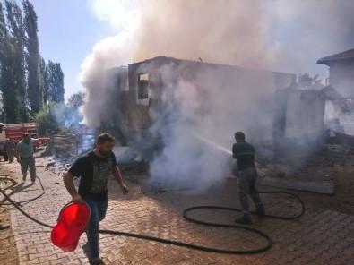 Eldivan'da Ev Yangını