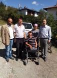 Engelliler Derneği'nden İhtiyaç Sahibi Vatandaşa Akülü Tekerlekli Sandalye Yardımı