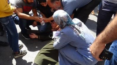 HDP İl Binası Önünde Eylem Yaparken Babasının Ölüm Haberini Aldı