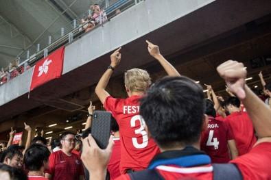 Hong Kong Sokaklarındaki Eylemler AVM Ve Stadyuma Sıçradı