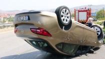Manisa'da Trafik Kazası Açıklaması 2 Yaralı