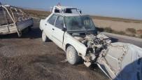 Otomobil İle Kamyonet Çarpıştı Açıklaması 4 Yaralı