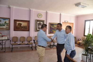 Sinop Milletvekilinden Başkan Tokat'a Ziyaret