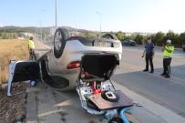 Sivas'ta Trafik Kazası Açıklaması 4 Yaralı