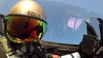 SOLOTÜRK'ün Edremit Körfezi Uçuşuna 'Kokpit İçi' Bakış