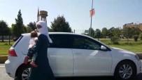 Trafikte Bebeği Kucağında Dilenen Kadın, İl Dışına Gönderildi