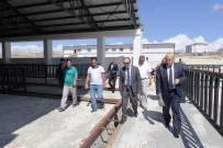 Vali Epcim Ve Başkan Pekmezci Belediye Yatırımlarını İnceledi