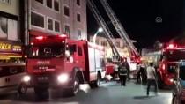 Yangına Müdahale Ederken Düşen İtfaiyeci Yaralandı