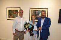 Ayvalık'ta Ressam Hale Arpacıoğlu'nun Açtığı Sergiye İlgi Yoğun Oldu