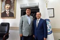 Başkan Dündar'dan Başhekim Ali'ye Hayırlı Olsun Ziyareti