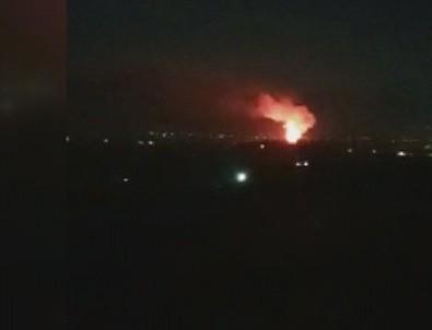 Çatalköy'de Askeri Bölge İçindeki Mühimmat Deposunda Patlama