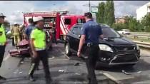 Çekmeköy'de Trafik Kazası Açıklaması 1 Yaralı