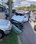 Fatsa'da Zincirleme Trafik Kazası Açıklaması 2 Yaralı