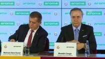 Mustafa Cengiz - Galatasaray'ın Yeni Su Sponsoru Aroma