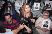 HDP İl Binası Önünde Eylem Yapan Annelere Sanatçı Hülya Bozkaya'dan Destek