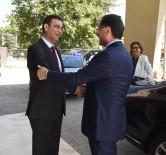Kamu Başdenetçisi Şeref Malkoç GSO'yu Ziyaret Etti