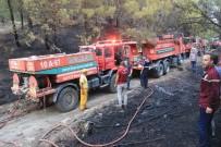 Kazdağları'nda Çıkan Orman Yangını Söndürüldü