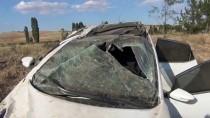 Konya'da Otomobil Devrildi Açıklaması 2 Yaralı