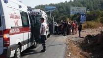 Muğla'da Otomobil Devrildi Açıklaması 5 Yaralı