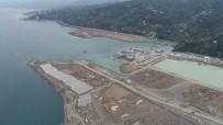 PERSONEL SAYISI - Rize-Artvin Havalimanı'nda Çalışmalar Hızlandı, Dolgu Çalışmalarının Yüzde 41'İ Tamamlandı
