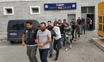Samsun'da Uyuşturucu Ticaretinden 7 Zanlı Adliyede