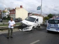 Şile Yolunda Zincirleme Kaza Açıklaması 1 Yaralı