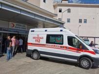 Tunceli'de Otomobil Şarampole Uçtu Açıklaması 1 Ölü, 4 Yaralı