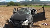 Tunceli'de Trafik Kazası Açıklaması 1 Ölü, 4 Yaralı